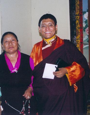 Together at Vajradha Ling, 2003