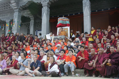 Meeting Choegon Rinpoche Chokyi Sengye and Dorzong Rinpoche in Kullu