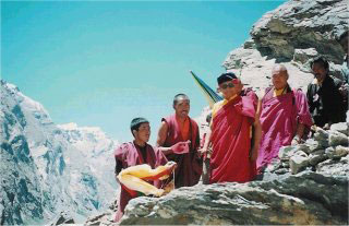 A pilgrimage to the holy Naropa cave in Zanskar